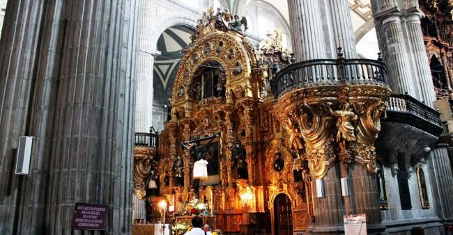 Zocalo Centro Histórico da Cidade do México - Catedral Metropolitana Interior 3
