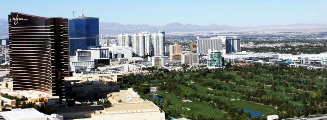Las Vegas The LINQ - vista do alto da High Roller roda gigante 3