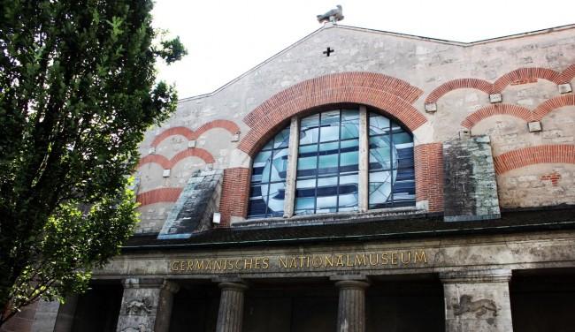 Museu Nacional Germânico de Nuremberg - Lateral