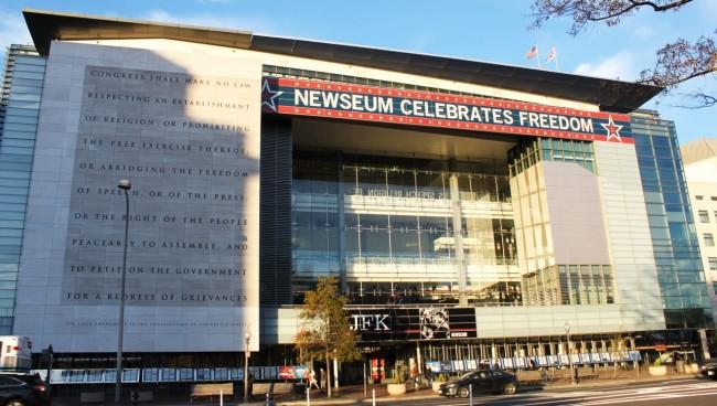 Roteiro de Washington - Newseum