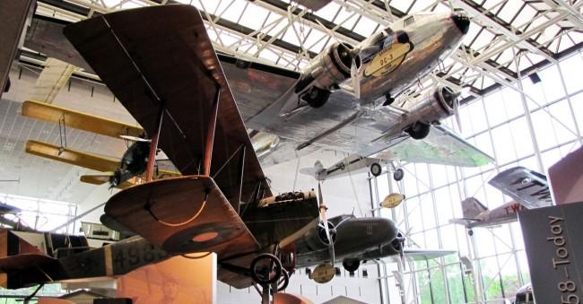 Roteiro de Washington - Museu Aero-Espacial 2