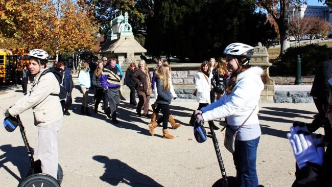 Segway Tour em Washington - É assim que as pessoas ficam ao ver gente de segway