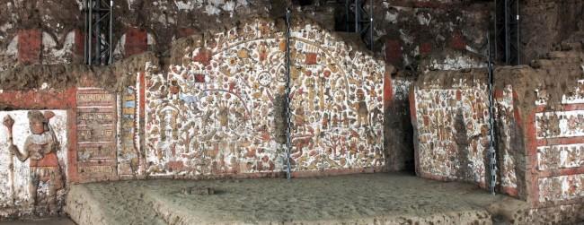 Sítios Arqueológicos de Trujillo - Huaca de la Luna 11 Muro dos mitos