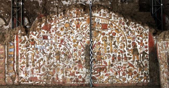 Sítios Arqueológicos de Trujillo - Huaca de la Luna 12 Muro dos mitos