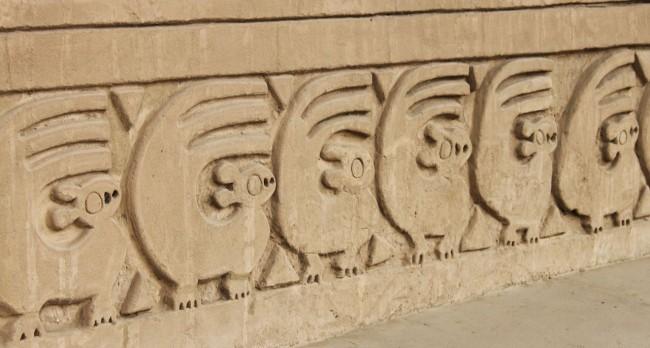 Chan Chan Patrimônio da Unesco - Esquilos