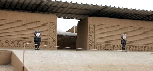 Chan Chan Patrimônio da Unesco - Entrada 3