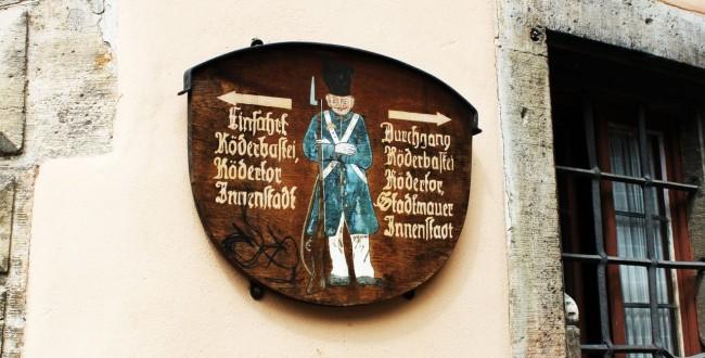Rothenburg - Placas 1