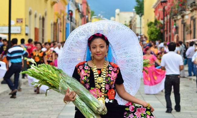 Roteiro de Oaxaca - Roupas Típicas