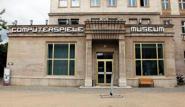 Museu do Videogame de Berlim - Entrada