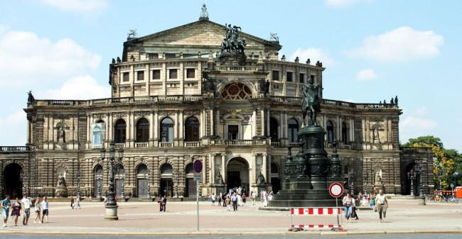 Dicas de viagem a Dresden - Cidade Velha Alstadt Semperoper