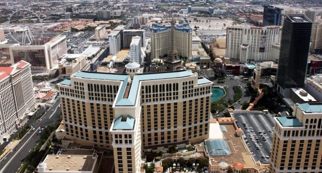 Passeio de helicóptero pelo Grand Canyon perto de Las Vegas - sobrevoo sobre a strip 1