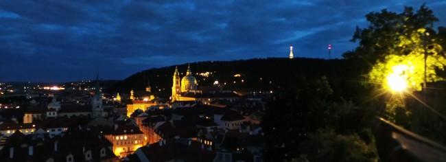De onde ver Praga do alto - Castelo de Praga 1