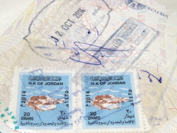 Visto Jordânia