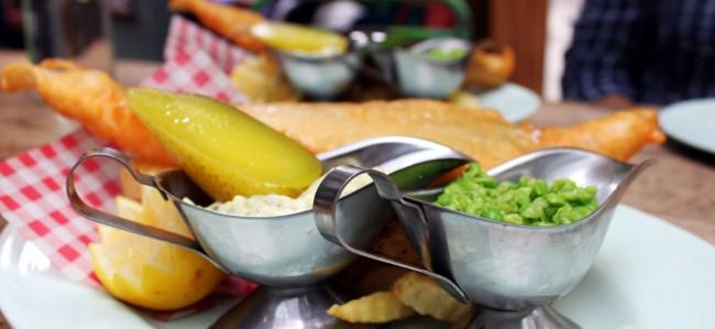 Onde comer barato em Londres - Union Jacks