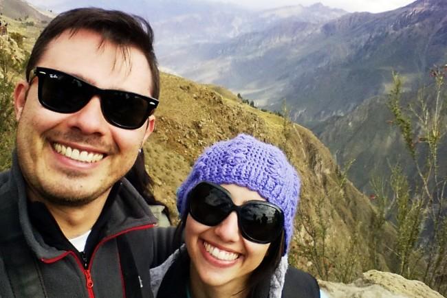 Primeira pesquisa Sundaycooks - Foto no Valle del Colca - Peru