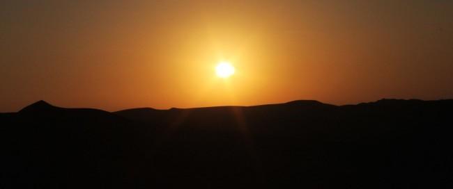 Dicas de Huacachina-Ica-Peru - Pôr do sol 1