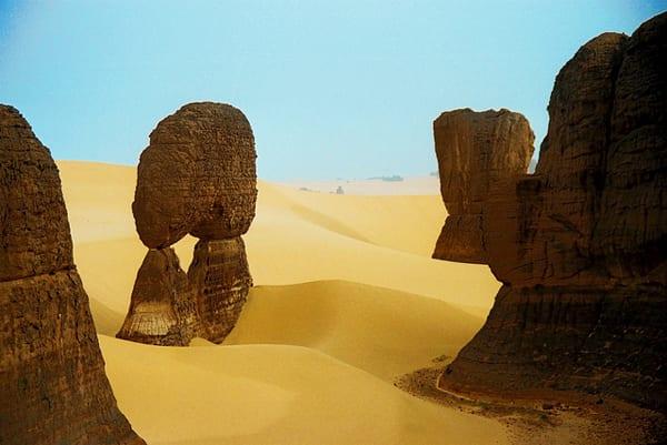 Montanhas Hoggar, no Saara argelino (Foto: Eric Montfort - CC)