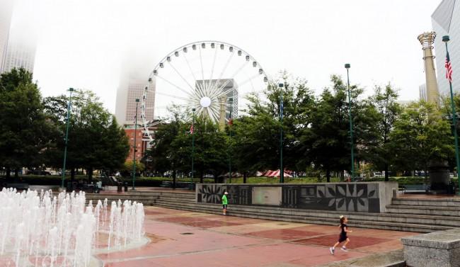 Roteiro de viagem de Atlanta - Roda gigante 2