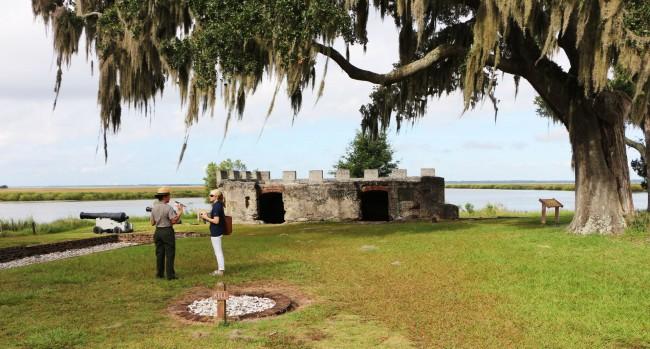 St Simons Island na Georgia Estados Unidos - Fort Frederica 2