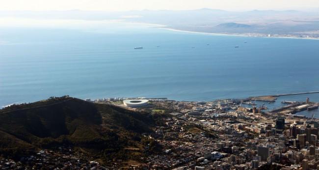 Table Mountain na Cidade do Cabo - paisagem 4