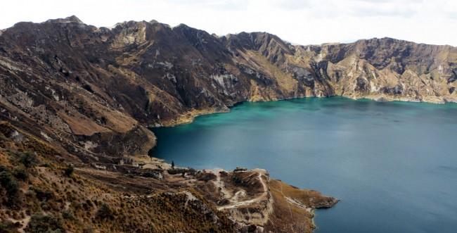 Vulcão Quilotoa no Equador - 15