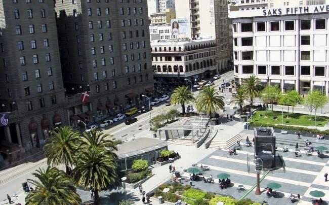Roteiro por São Francisco - union square