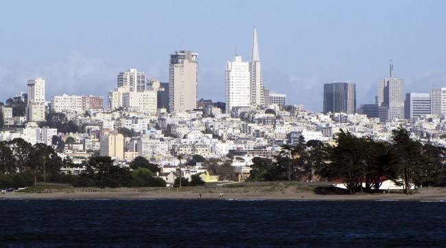 Roteiro por São Francisco - skyline