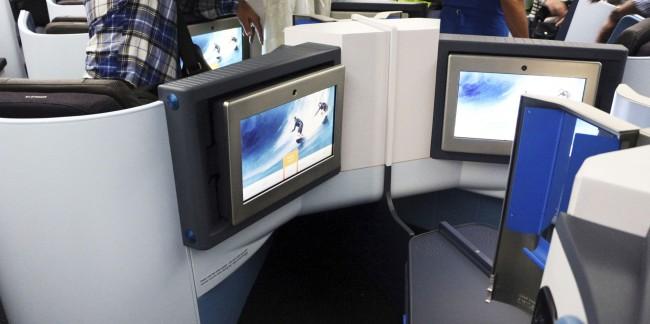Como é voar de business class na KLM - 02