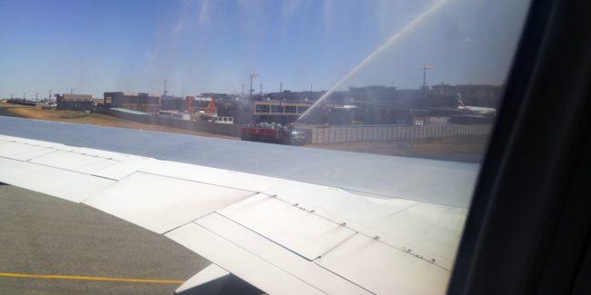 Como é voar de Latam para a África do Sul - 06