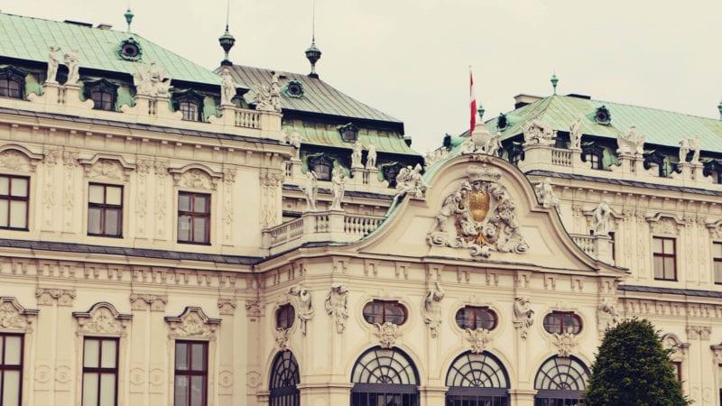Palácio Belvedere em Viena - O Beijo de Klimt - 02