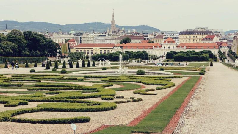 Palácio Belvedere em Viena - O Beijo de Klimt - o que fazer em Viena