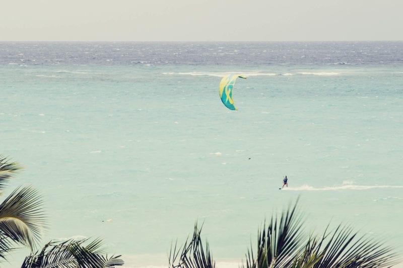 Kitesurf em White Beach, Boracay