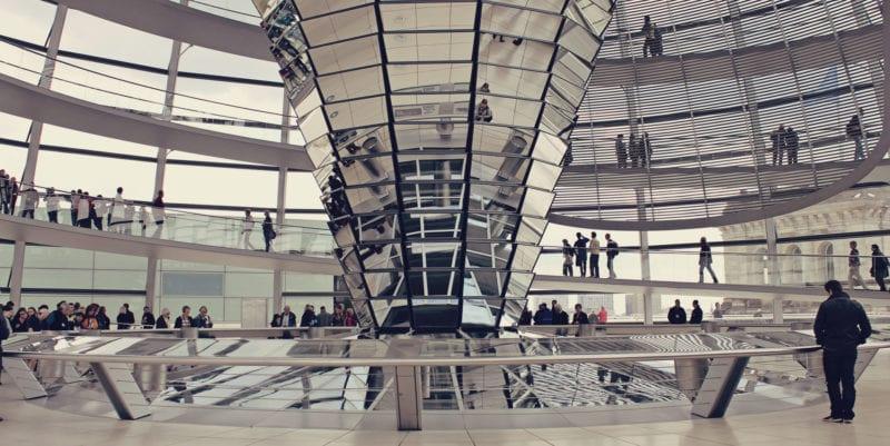 Como visitar a cúpula do Reichstag e o Parlamento Alemão - 06