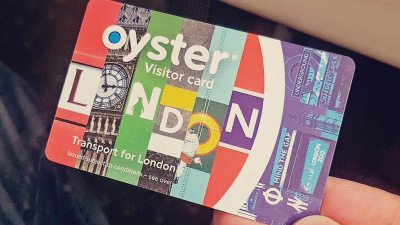 Como sair do aeroporto de Gatwick para o centro de Londres - oyster card