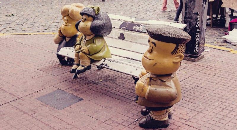 O que fazer em Buenos Aires gastando pouco - mafalda