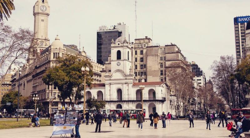 O que fazer em Buenos Aires gastando pouco - Plaza de Mayo