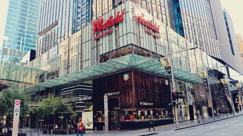 Onde fazer compras em Sydney, na Austrália? Shopping Westfield Sydney