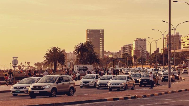 Roteiro barato montevidéu, uruguai - praia