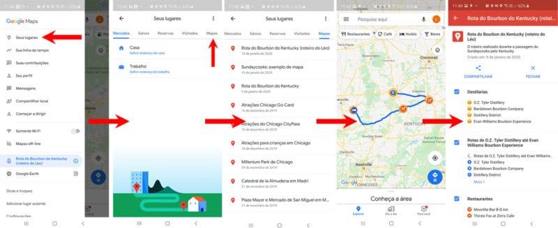 Como fazer roteiros de viagens com o Google Maps 06