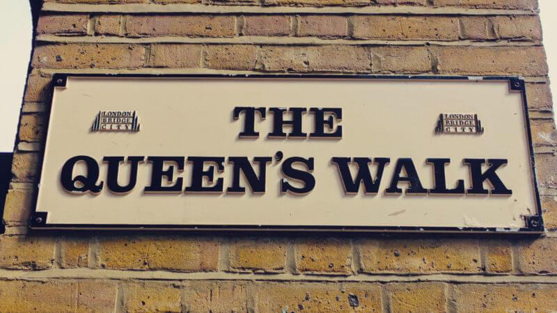 Passeio no Queen's Walk de Londres 15