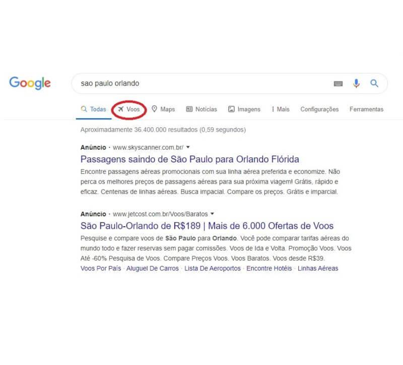 Como usar o Google Flights e achar passagens baratas 8