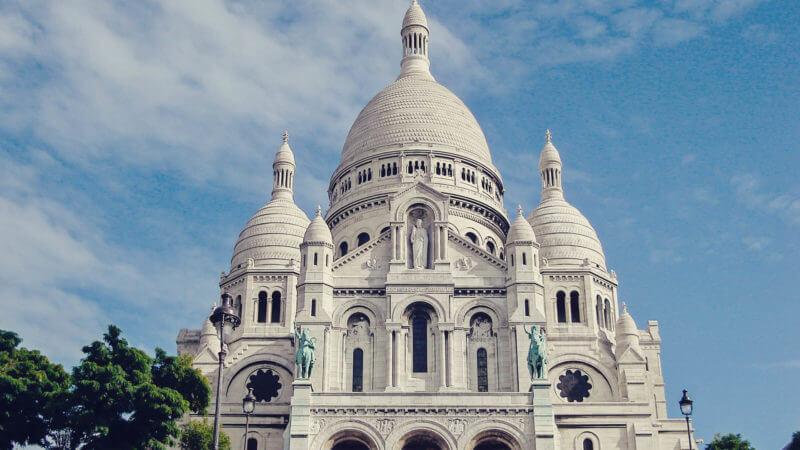 Onde ver Paris do alto: Basílica de Sacré Cœur