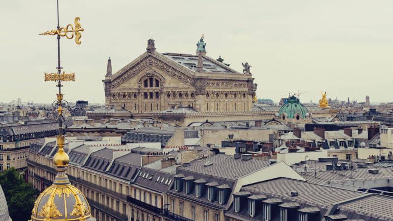 Onde ver Paris do alto: Printemps