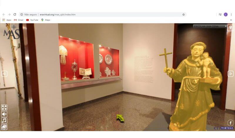 visitando um museu virtual de casa 07