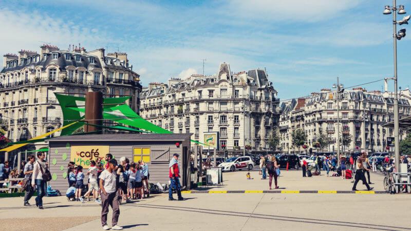 usando o metro e transporte publico de paris 07