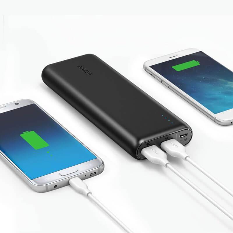 Bateria extra portátil para celular - anker 20100