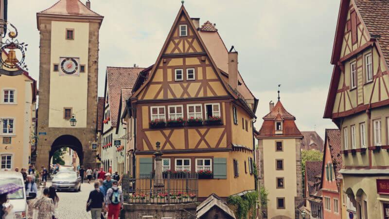 viagem romântica pela Alemanha