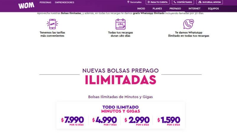 Onde comprar chip de internet em Santiago - valores