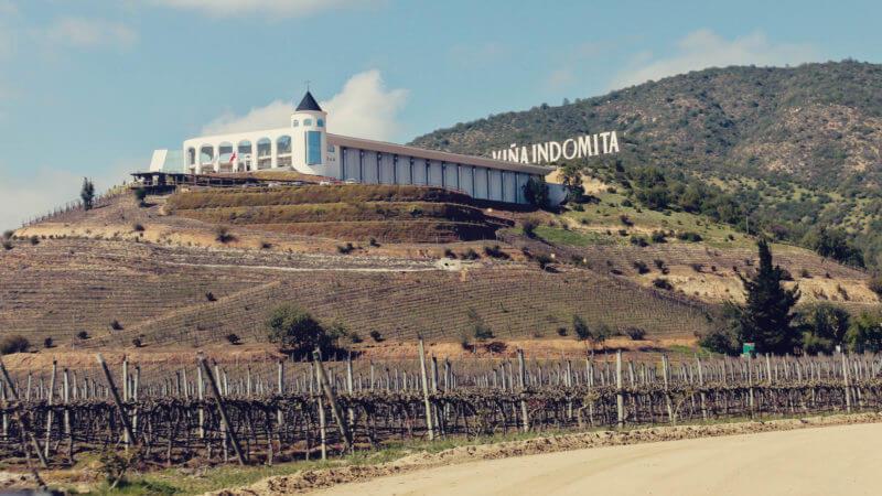 Vinícola Indómita, no Vale de Casablanca perto de Santigo - onde ficar